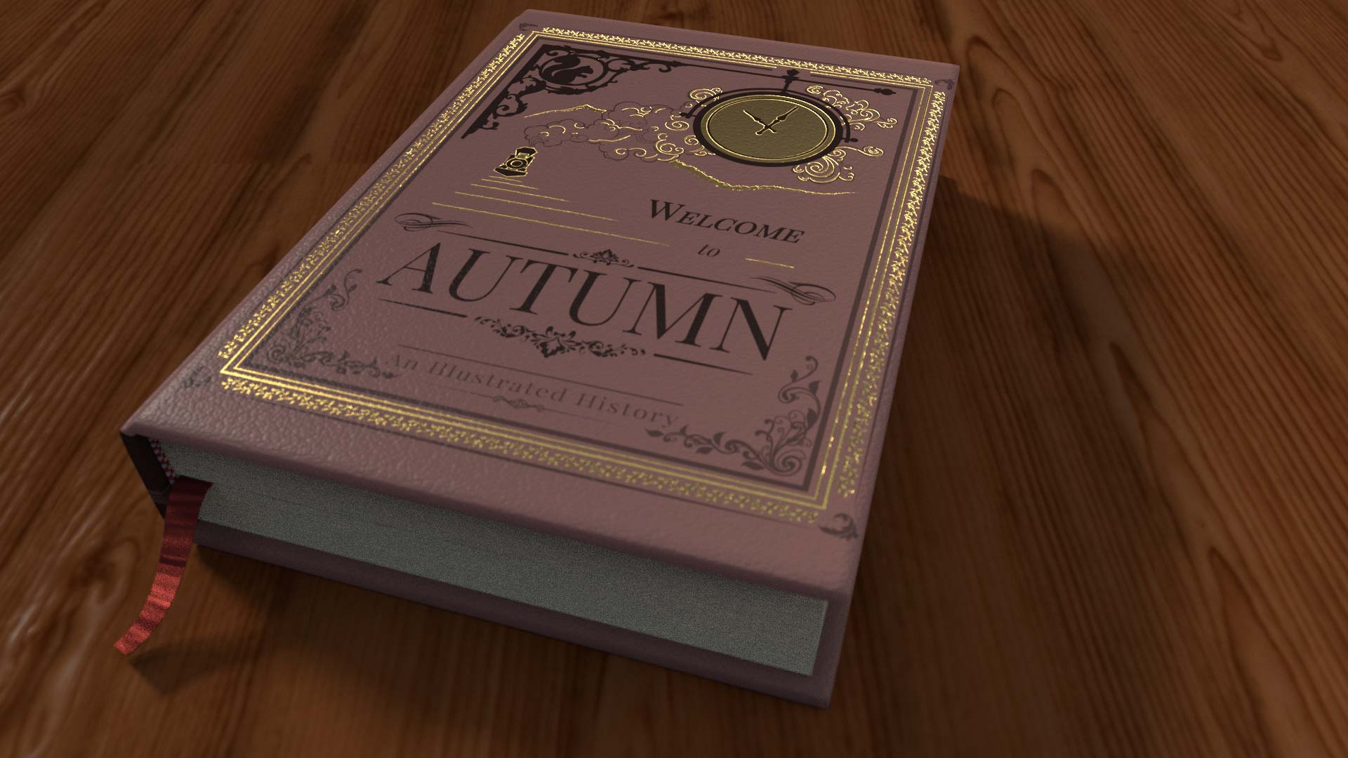 Welcome to Autumn book mockup
