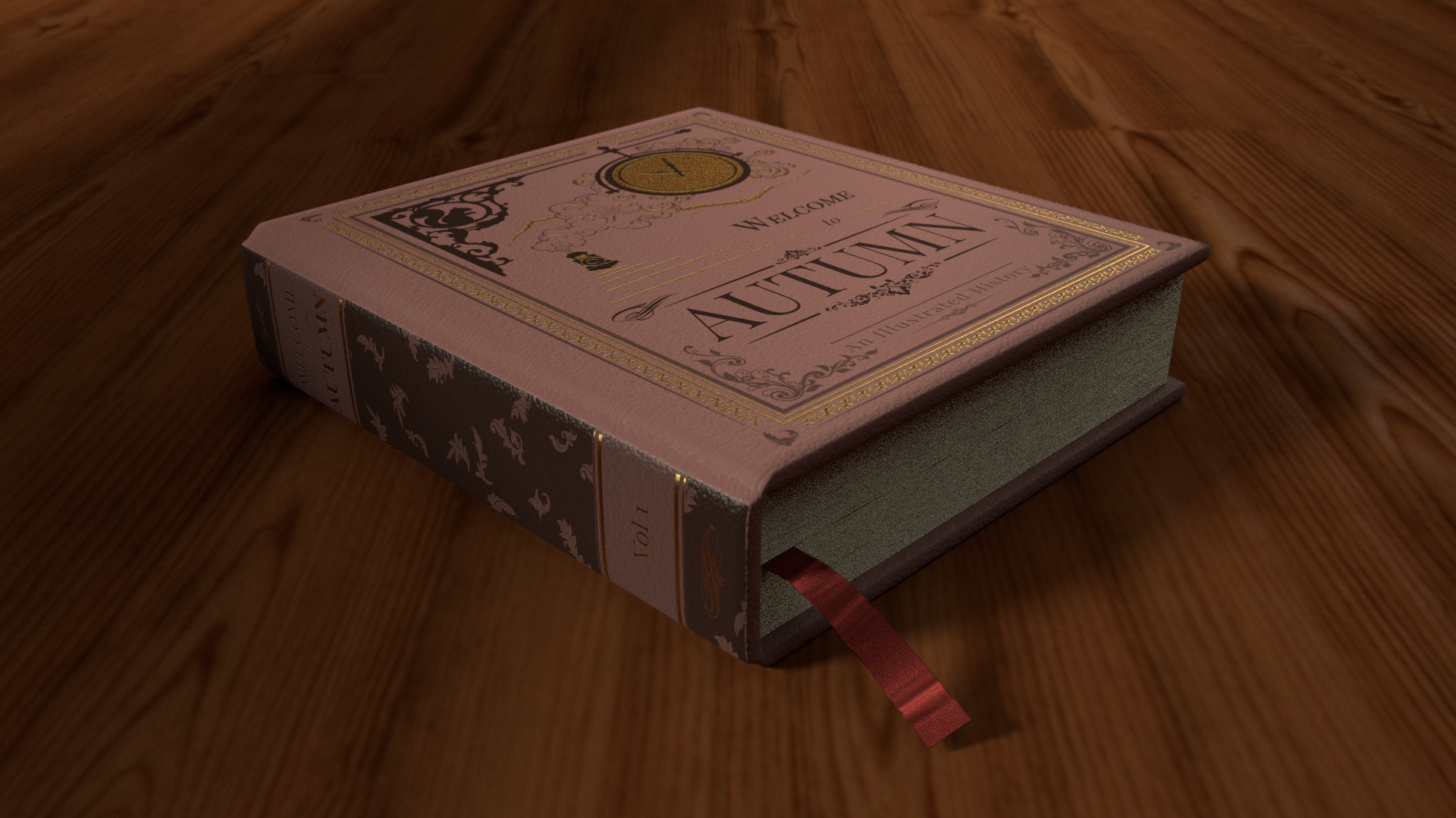 Welcome to Autumn 3d book mockup