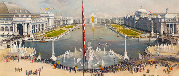 drawing of Chicago World's Fair