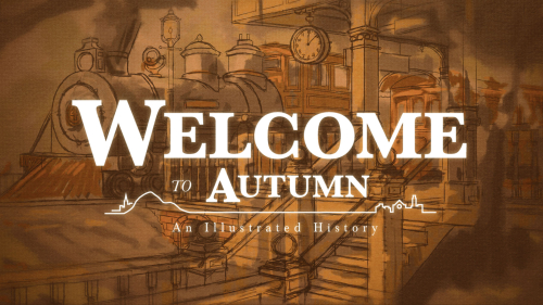 Welcome to Autumn header and logo