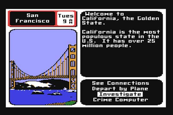 game shot of Where in the World is Carmen Sandiego