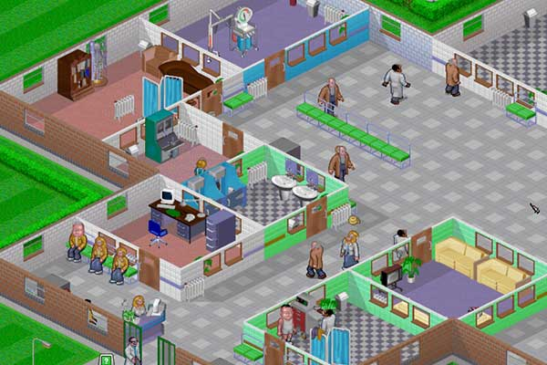 game shot of Theme Hospital