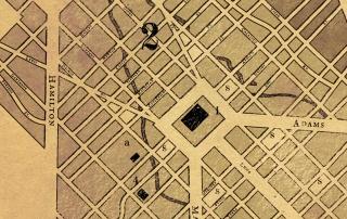 Autumn map detail