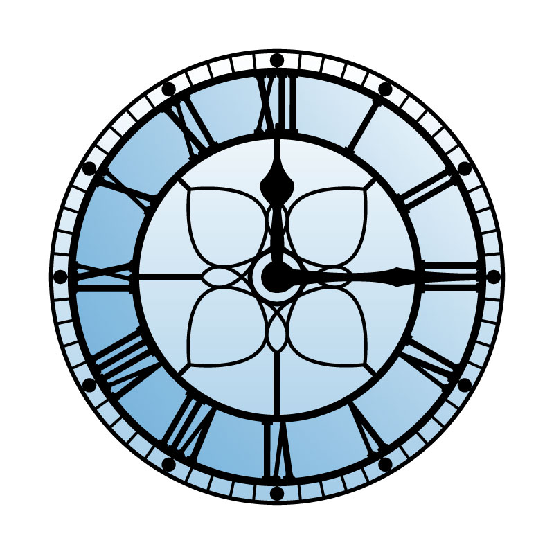 clock face city hall