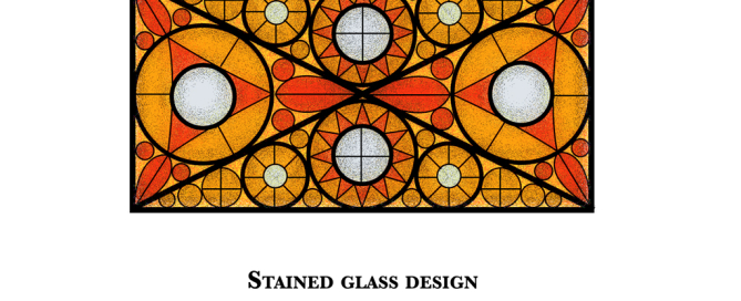 Stained glass victorian